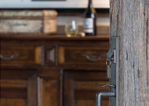 Entry - Fish Creek Lodge - Teton Village Luxury Cabin Rental