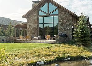 Creek - Fish Creek Lodge - Teton Village Luxury Cabin Rental