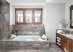 Master Bath - Chateau on the West Bank - Jackson Luxury Villa