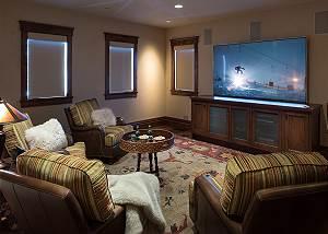 Media Room - Chateau on the West Bank - Jackson Luxury Villa