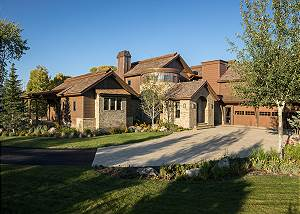 Exterior - Chateau on the West Bank - Jackson, WY Luxury Villa