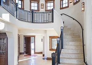 Stairway - Chateau on the West Bank - Jackson, WY Luxury Villa