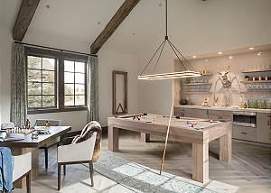 Rec Room - Cirque View Homestead - Teton Village, WY - Luxury
