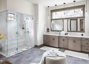 Master Bathroom - Cirque View Homestead - Teton Village, WY