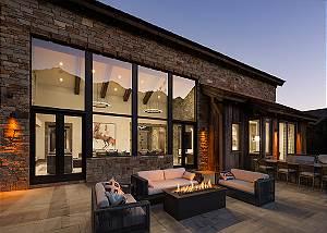 Deck - Cirque View Homestead - Teton Village, WY - Luxury Villa