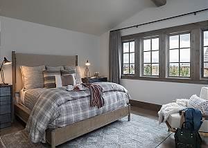 Guest Bedroom 3 - Cirque View Homestead - Teton Village, WY