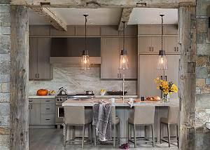 Kitchen - Cirque View Homestead - Teton Village, WY - Luxury Vil