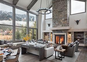 Great Room - Cirque View Homestead - Teton Village, WY - Luxury