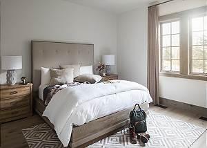 Guest Bedroom 2 - Cirque View Homestead - Teton Village, WY