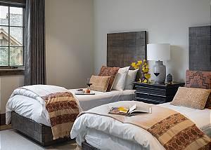 Guest Bedroom 4 - Cirque View Homestead - Teton Village, WY