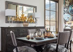 Dining - Four Pines 102 - Teton Village Luxury Cabin Rental