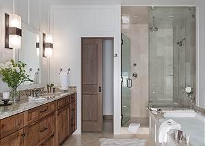 Upper Level Master Bathroom - Four Pines 102 - Teton Village