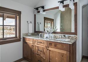 Guest Bathroom - Four Pines 102 - Teton Village Luxury Rental