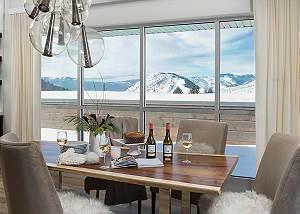 Dining - Penthouse on Glenwood - Jackson Hole - Luxury Rental