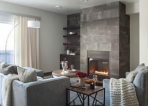 Great Room - Penthouse on Glenwood - Jackson Hole - Luxury