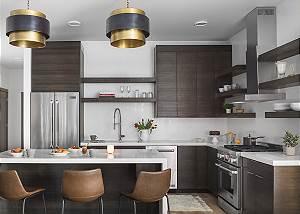 Kitchen - Penthouse on Glenwood - Jackson Hole - Luxury Rental
