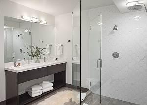 Master Bathroom - Penthouse on Glenwood - Jackson Hole