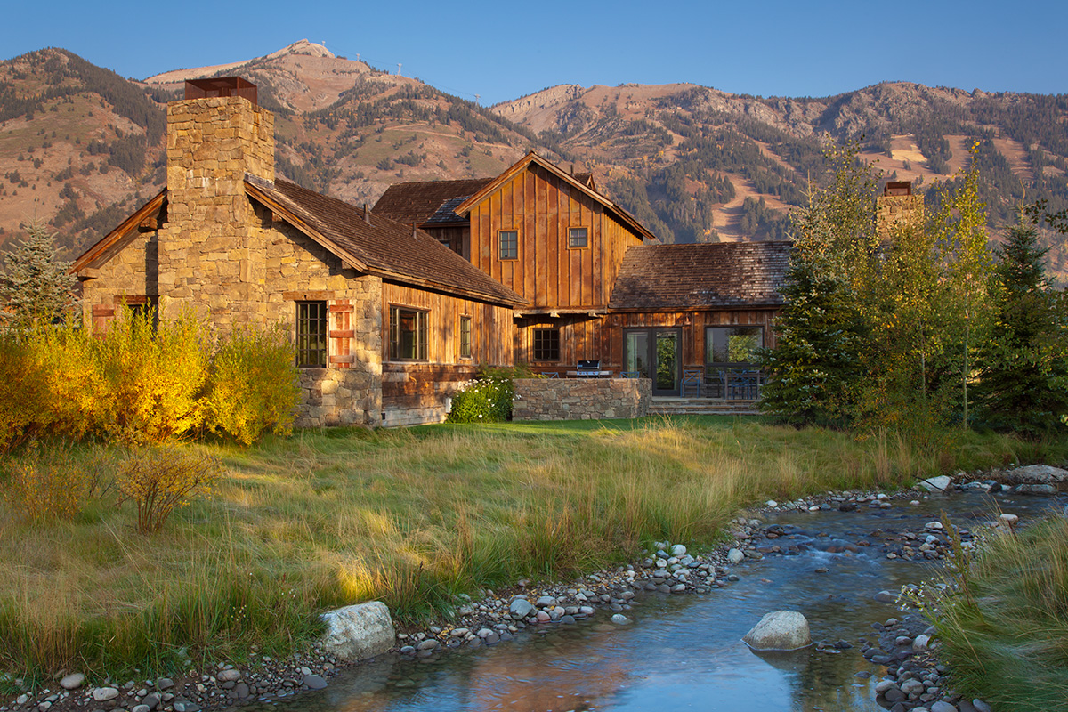 Teton village luxury cabin rental shooting star cabin 17 for Teton cabin rentals