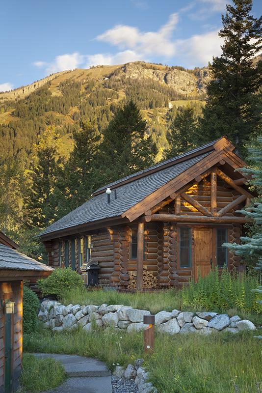 teton village luxury vacation cabin rental moosehead cabin