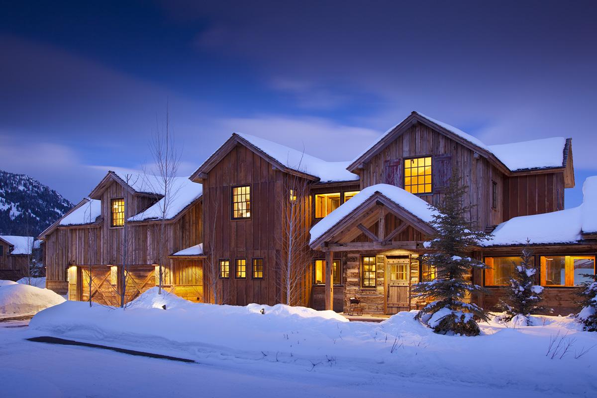 Luxury cabin rental in teton village shooting star cabin 05 for Teton cabin rentals