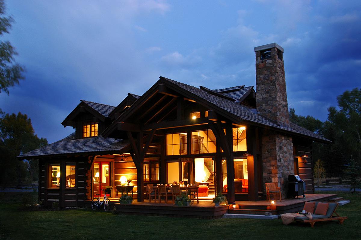 Bear Trap Cabin Jackson Hole Luxury Lodging Rentals