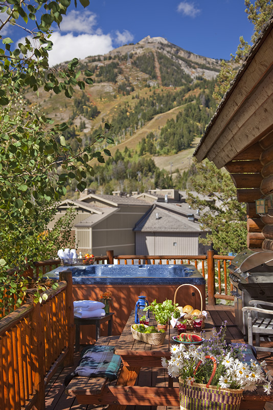 Teton Village Luxury Vacation Cabin Rental Moosehead Cabin