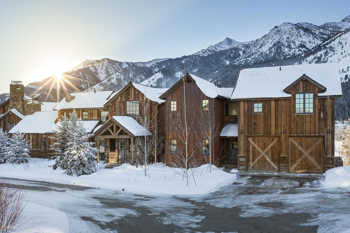 luxury jackson hole cabin rental four pines 06 in teton
