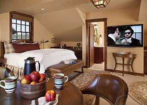 Guest Bed 3 - Shooting Star Cabin - Luxury Villa - Teton Village