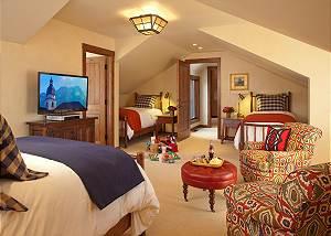 Guest Bed 3 - Shooting Star Cabin - Luxury Villa - Teton Village