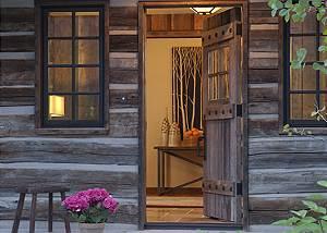 Entry - Shooting Star Cabin - Luxury Villa Rental - Teton Villag