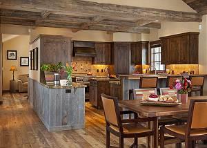 Dining /Kitchen - Shooting Star Cabin - Luxury Villa - Teton Vil