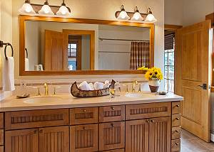 Master Bath - Catamount - Teton Village Luxury Vacation Cabin