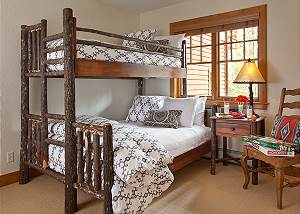 Guest Bed 3 - Catamount - Teton Village Luxury Vacation Cabin