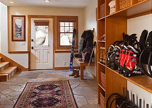 Mudroom - Catamount - Teton Village Luxury Vacation Cabin