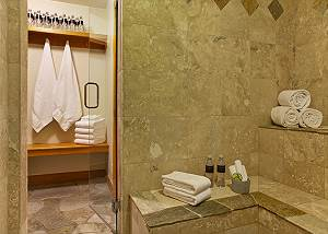 Steam Room - Catamount - Teton Village Luxury Cabin