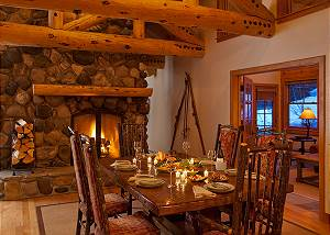 Dining Area - Catamount - Teton Village Luxury Vacation Cabin
