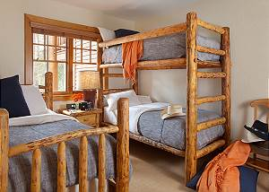 Guest Bed 2 - Catamount - Teton Village Luxury Vacation Cabin