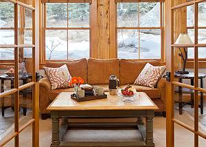 Sun Room - Catamount - Teton Village Luxury Vacation Cabin