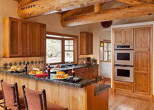 Kitchen - Catamount - Teton Village Luxury Vacation Cabin