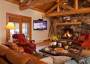 Great Room - Catamount - Teton Village Luxury Vacation Cabin