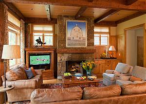 Great Room - Granite Ridge Lodge - Luxury Teton Village Cabin