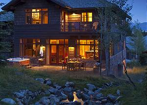 Exterior - Granite Ridge Lodge - Luxury Teton Village Cabin