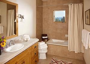 Guest Bath 3 - Granite Ridge Lodge - Luxury Teton Village Cabin