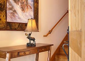Entryway - Granite Ridge Lodge - Luxury Teton Village Cabin