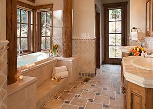 Master Bath - Slopeside Apres Vous - Ski in/Ski out Teton Villag