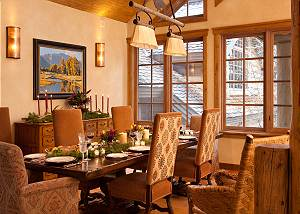 Dining Area - Slopeside Apres Vous - Ski in/Ski out Teton Villag
