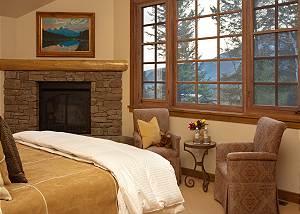 Master Bed 2 - Slopeside Apres Vous - Ski in/Ski out Teton Villa
