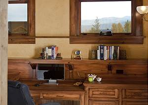 Office - Big Sky - Jackson Hole, WY Luxury Vacation Rental