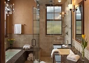 Master Bath - Big Sky - Jackson Hole, WY Luxury Vacation Rental