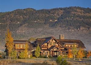 Exterior of Big Sky - Luxury Vacation Rental Jackson Hole, WY